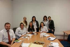Terminamos taller de capacitación con el equipo de RRHH de ABITAB